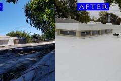 01 TPO Roof_ 5137 Weber Ln._ Skokie before after
