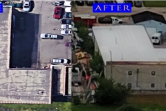 05 Flat Roof_ 240 Industrial Ln_ Wheeling before after