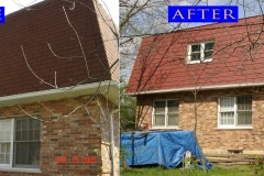 07 Metal Shingle Roof_ 11636 S. Brightway Dr._ Mokena before after