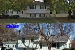 15 Metal Shingle Roof_ 1236 Basswood Dr._ Naperville before after