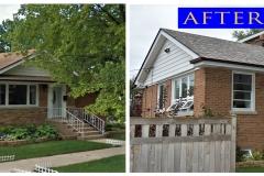 04 Asphalt Shingle Roof_ 8238 W. Cornelia Ave._ Chicago before after