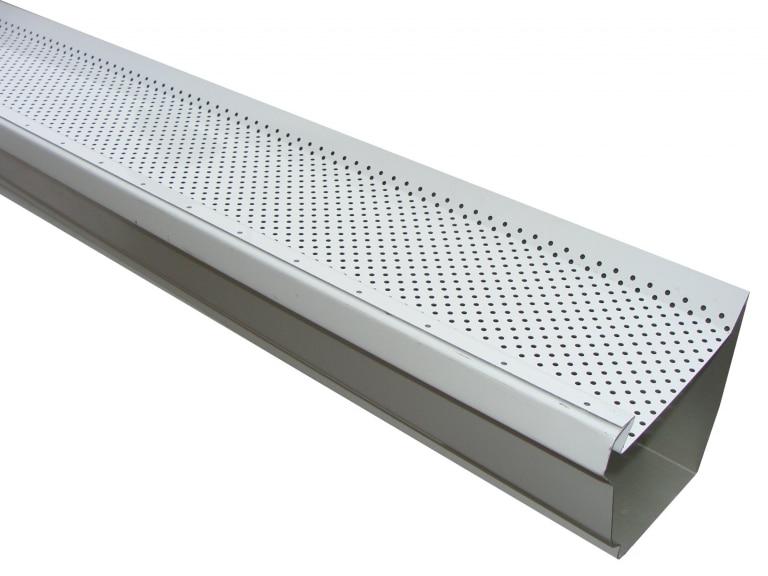 Aluminum Leaf Defender Gutter Guard 768x576 - Gutters