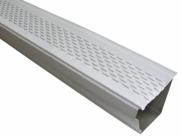 Aluminum Leaf Out Gutter Guard - Gutters