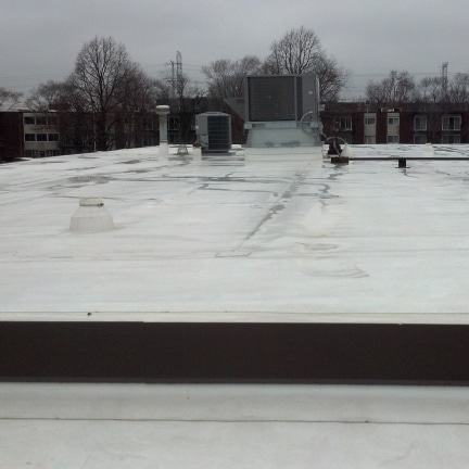 TPO Thermoplastic Roof Replacements 432x432 - Commercial Roofing & Siding